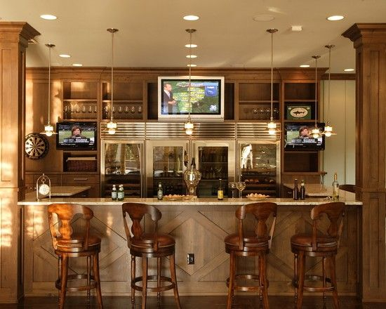 Enchanting Traditional Home Bars For Basements Also Adorable