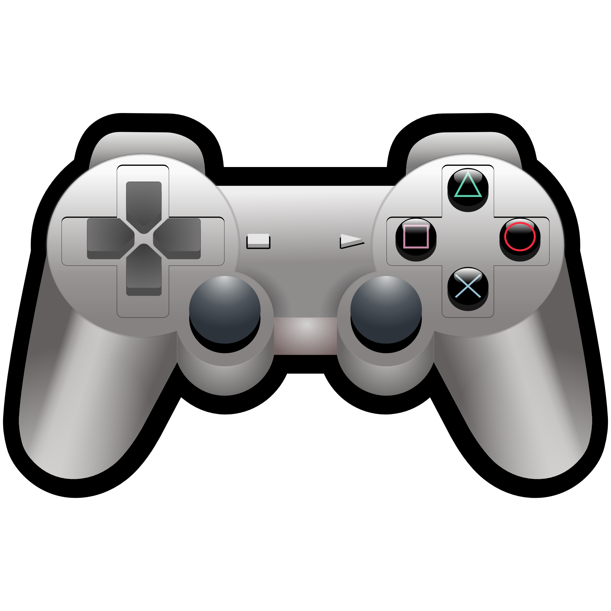 Clipartist Net Clip Art Playstation Ps 3 Console Controller 2 | Sci ...