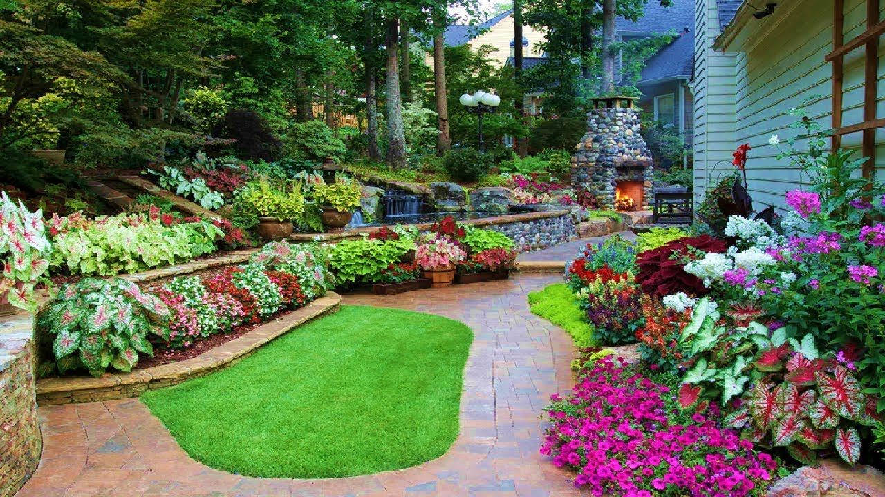 Beautiful Landscaping Design 30 New Ideas For Backyard Front Yard Garden Design Front Yard Landscaping Landscaping Atlanta