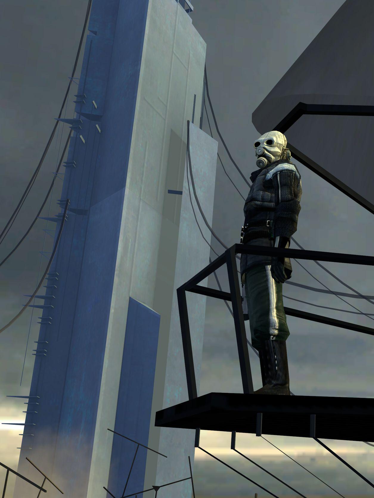 Half Life 2 Valve Corporation Citadel Miniature