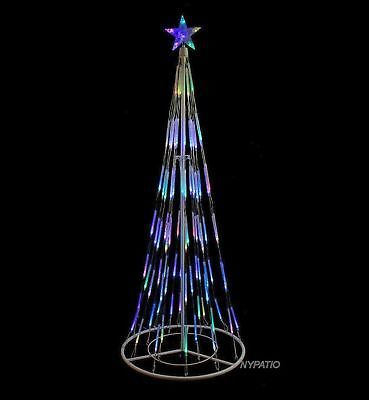 Light up your yard with this stunning bubble cone Christmas tree by Northlight. & Christmas Decorations: 7 Bubble Cone Christmas Tree Lighted Outdoor ...