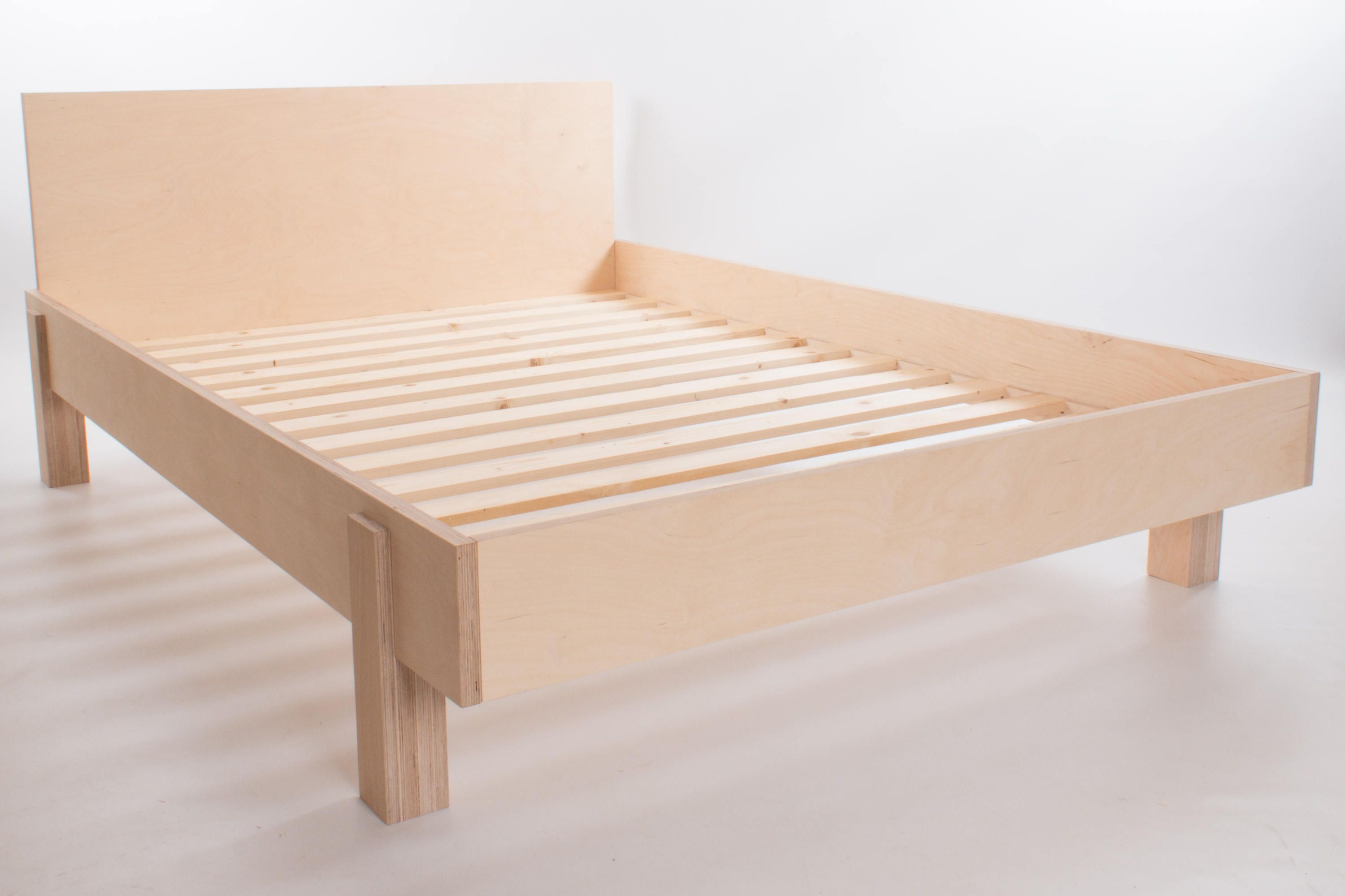 The Nordic Bed Modular Low Bed Birch Plywood International