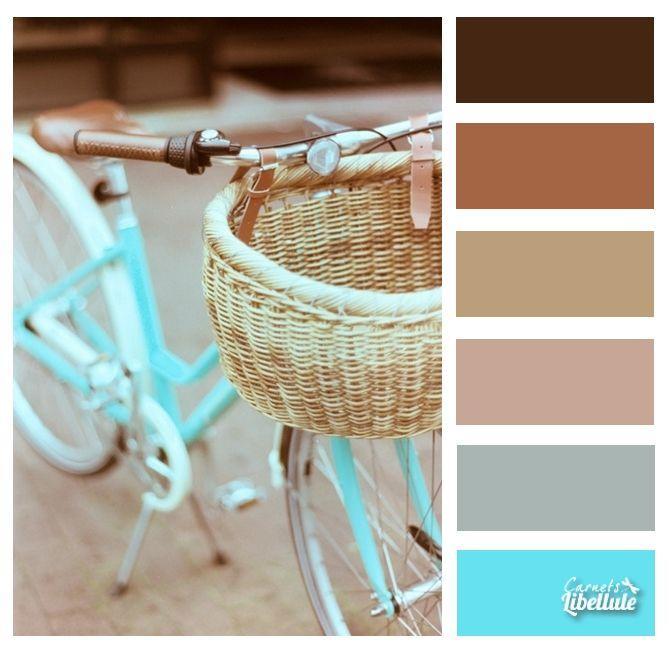 Le vélo bleu