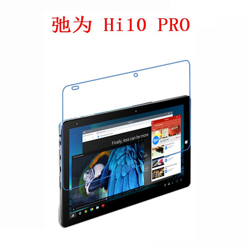 """Pack Of 1 Clear Tablet Screen Protector Guard For 10.1/"""" Chuwi Hi10"""
