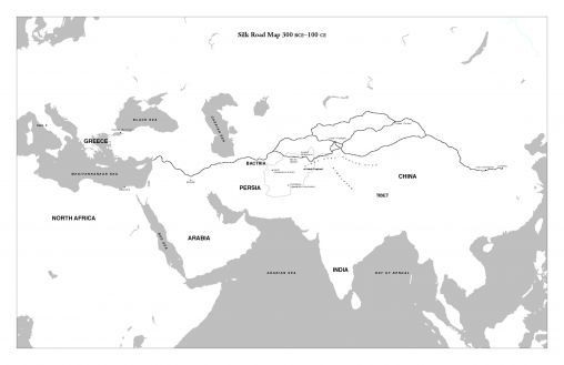 Mapping The Silk Road Lesson World History Classroom