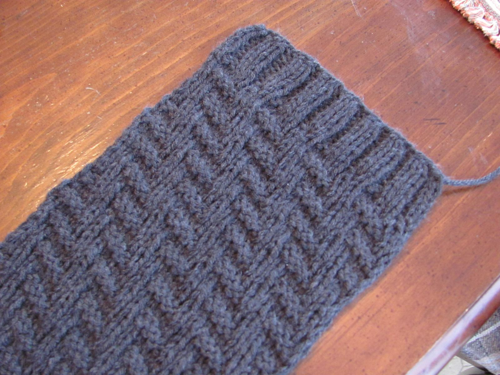 Rib And Welt Scarf By Lien Lu - Free Knitted Pattern - (ravelry ...