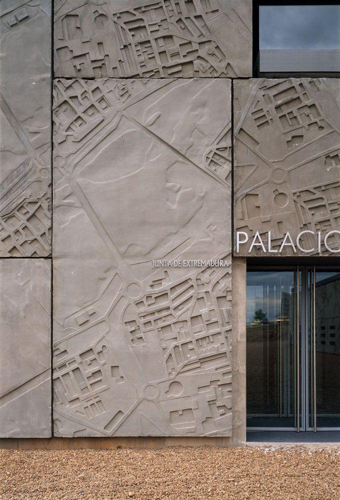 Precast Concrete Limestone : Concrete imprint large boundary wall google search