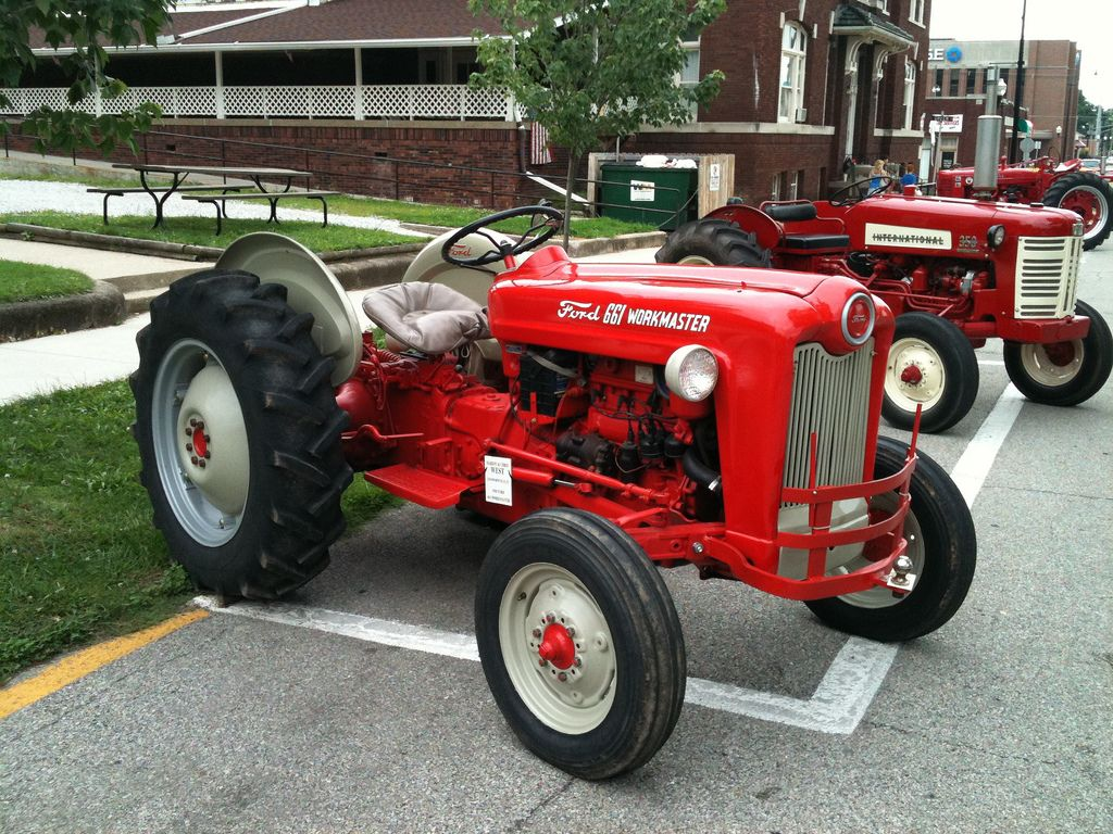 1958 Ford 8n Tractor : Ford workmaster tractor and tractors