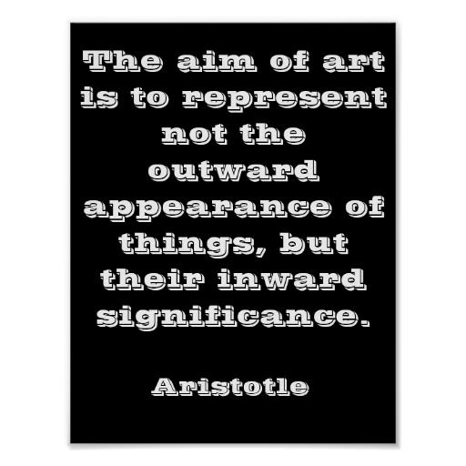Inspirational Quotes Aristotle Poster Art Print | Ideas for the ...