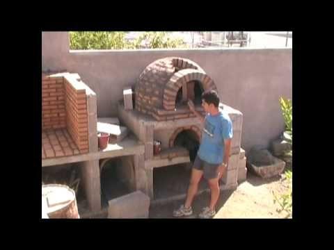 Horno de le a de la familia p rez alonso 2 parte con - Materiales para hacer un horno de lena ...