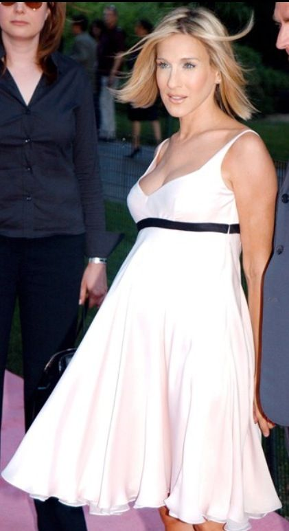 The Always Lovely Sarah Jessica Parker Maternity Style Pregnant