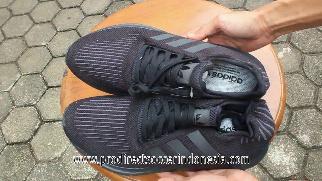 e8f177a80f61a Sepatu Lari Adidas Swift Run Core Black CG4111 Original