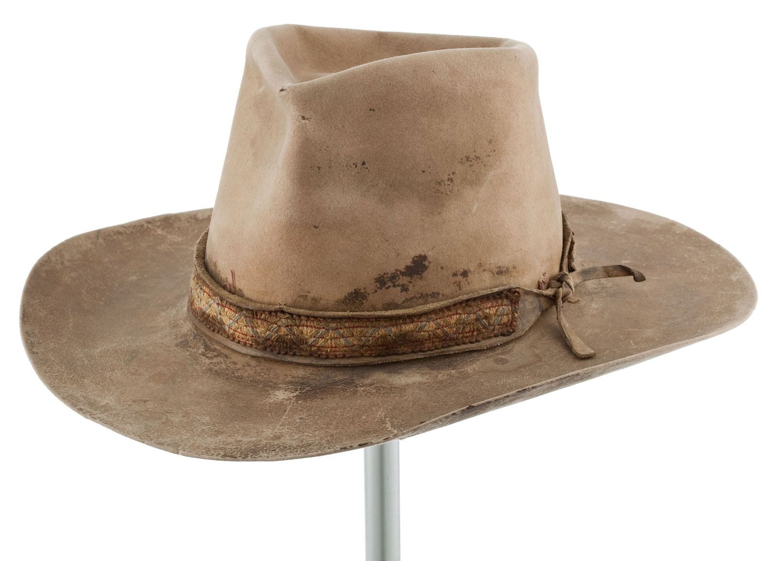 57a5a0f0d John Wayne's hat from Big Jake | John Wayne in 2019 | Cowboy hats ...