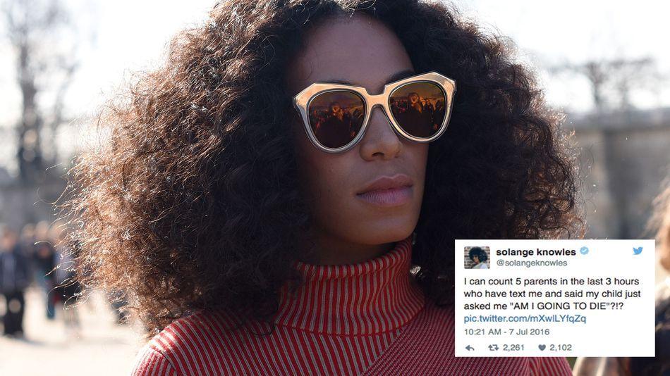 mashable: Solange Knowles posts heartbreaking tweets after recent police shootings https://t.co/j4eduxaCSg https://t.co/jO6c0Ea6UY