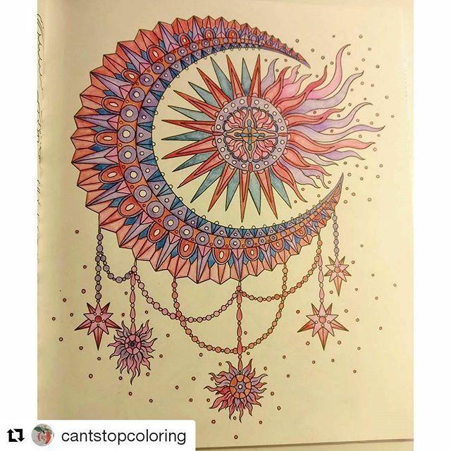 #Repost @cantstopcoloring with @repostapp ・・・ #hannakarlzon #magiskgryning #magiskgryningmålarbok #magicaldawn #magicaldawncoloringbook #mapedcolorpeps #målarbok #malebok #adultcolouring #workinprogress #arte_e_colorir #fangcolorfulworld #bayan_boyan #arttherapie #fargelegging #fargeleggingforvoksne #coloralong