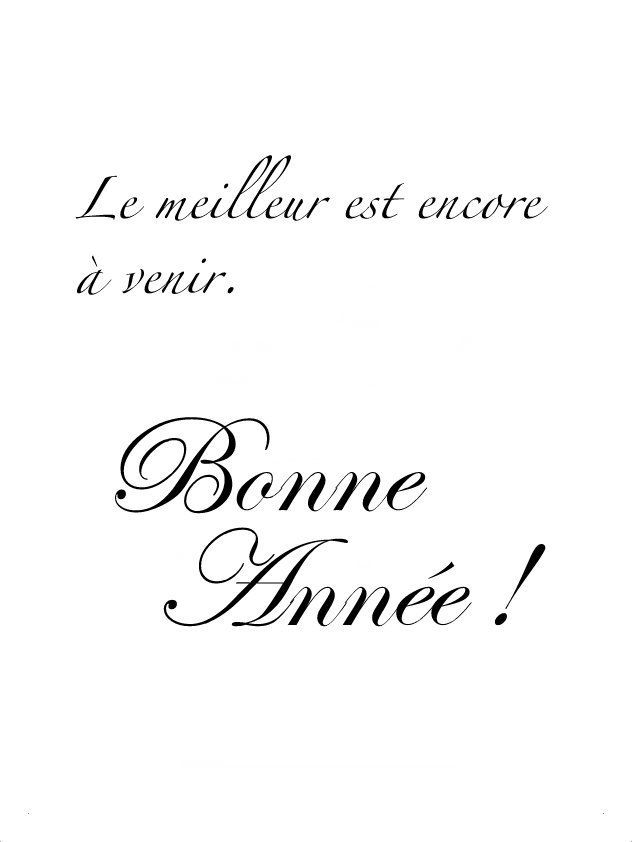 Paris est une Fête! — The best is yet to come. Happy New Year! | The ...