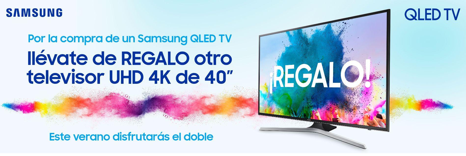 Promocion Samsung Qled Disfruta El Doble Samsung Televisor