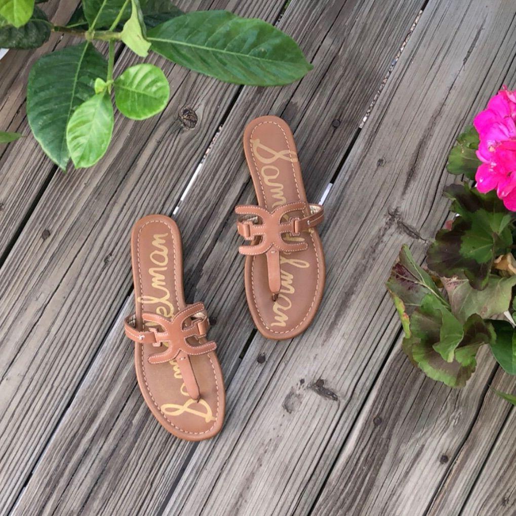 Sam Edelman Shoes Sam Edelman Carter Leather Sandals Color Tan Size 7 5 Leather Sandals Sam Edelman Shoes Sam Edelman