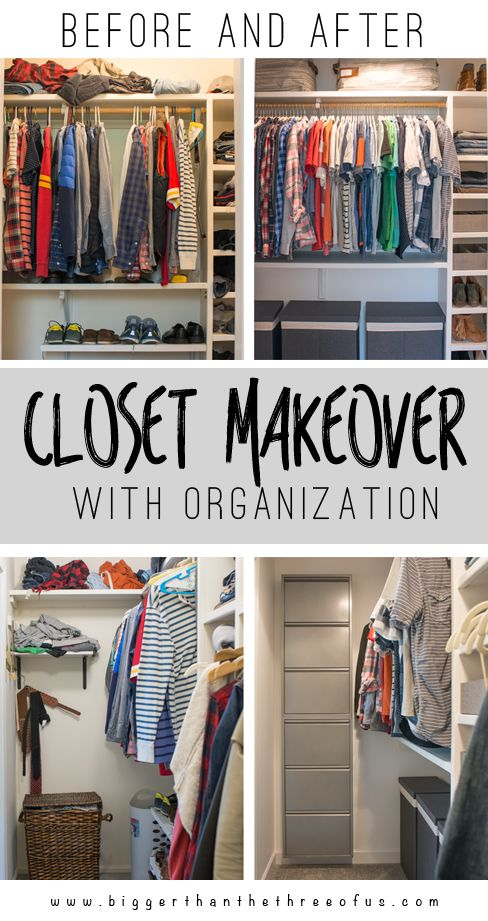 Etonnant If You Have A Messy Closet And Want Some Tips Come Over And See This Before  And After DIY Closet Makeover! Itu0027s A Drastic Change!