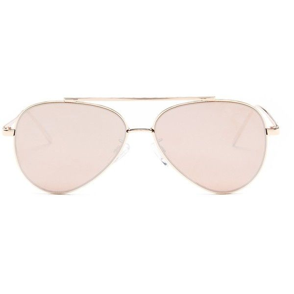 4a0c728a02 Steve Madden Women s Aviator Sunglasses ( 20) ❤ liked on Polyvore featuring  accessories