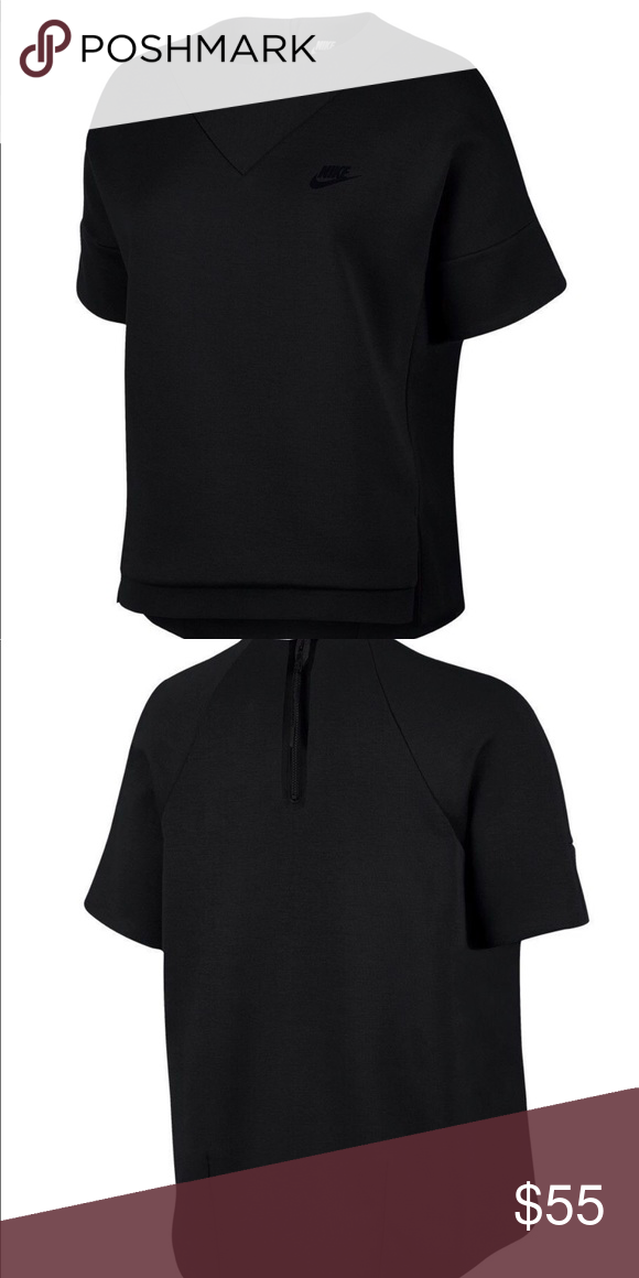 6327a0f411b0 Nike Women s Tech Fleece Crew Knit Sweatshirt Brand New with tags. Fabric  is soft