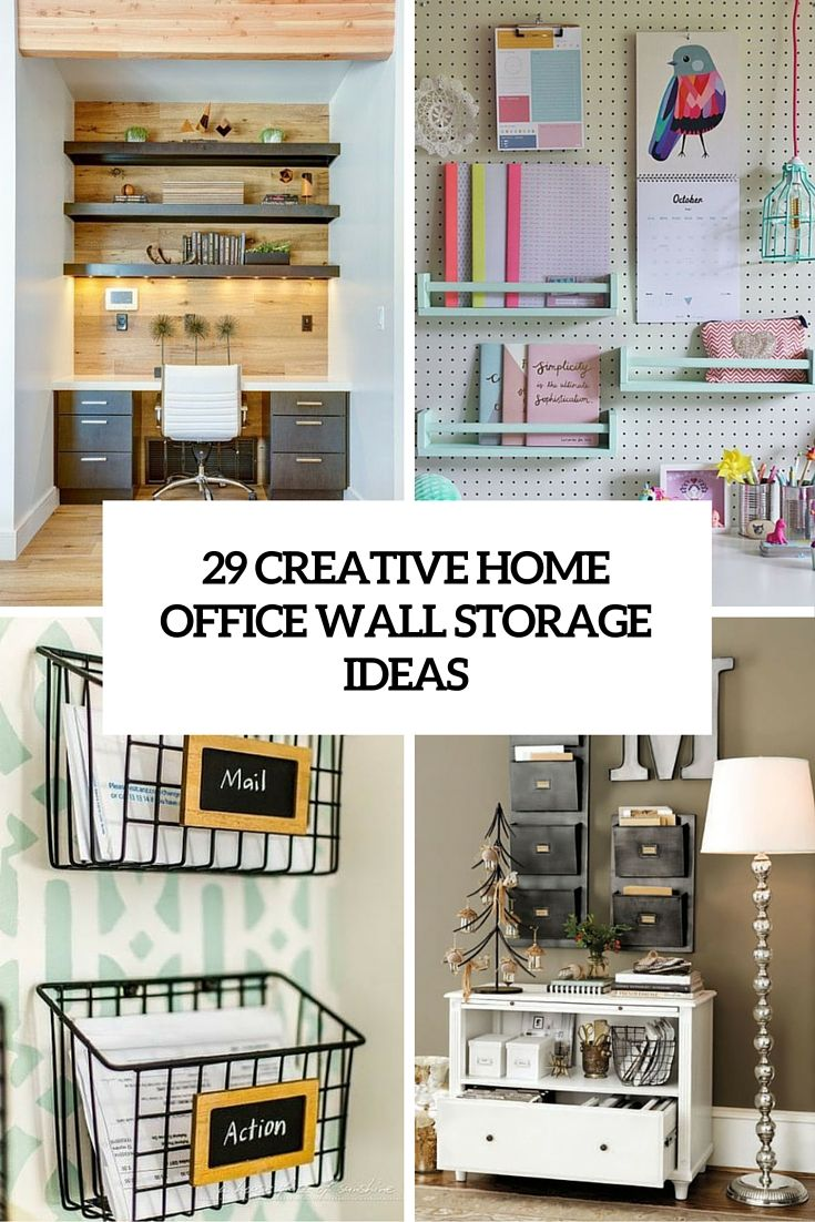 Storage Ideas Storiestrending Com In 2020 Office Wall