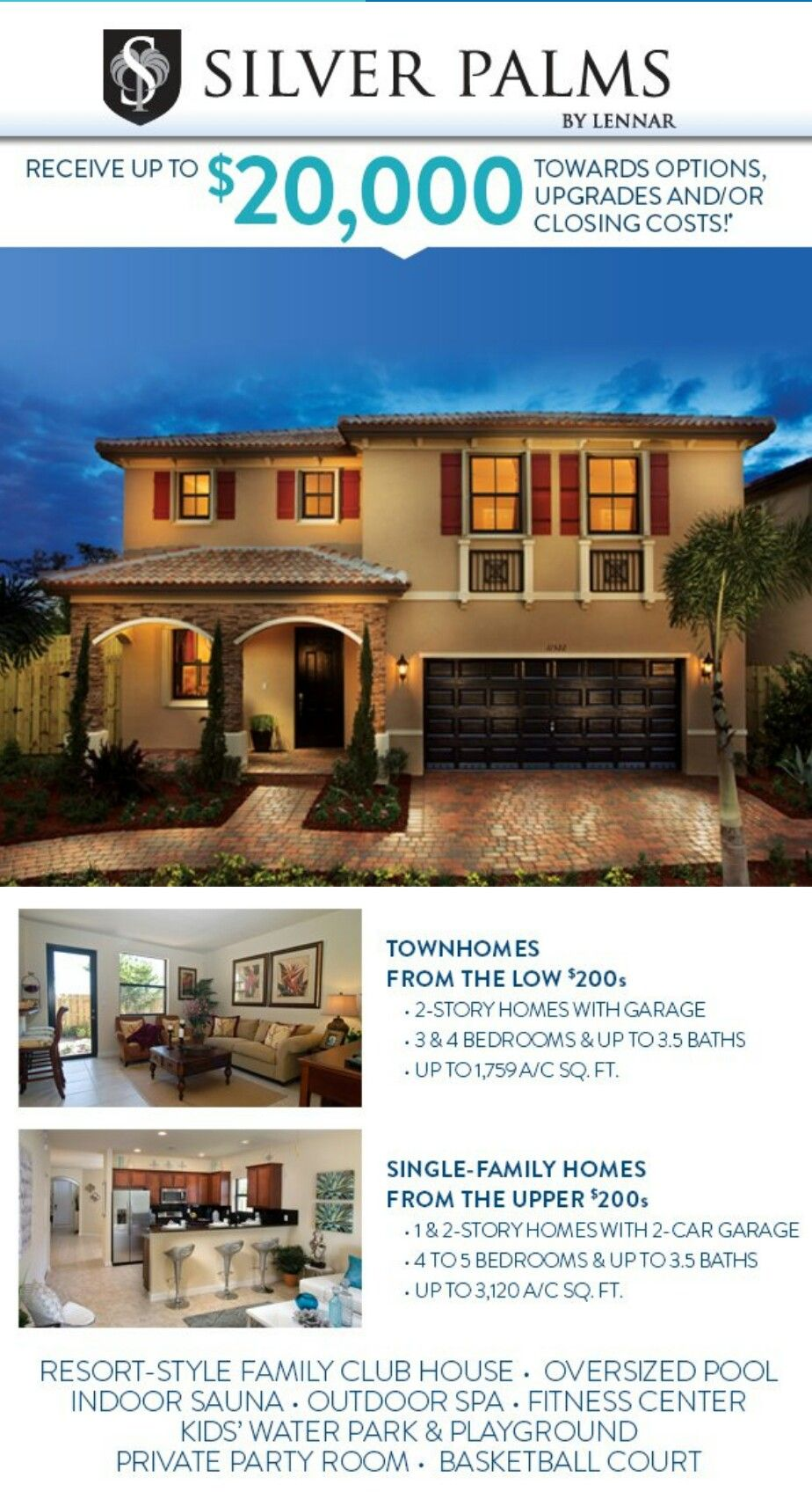 Get 20k In Incentives From 4 24 15 To 5 31 15 On Select Inventory Communities Call For Details Newhomes Building A House Resort Style Club House