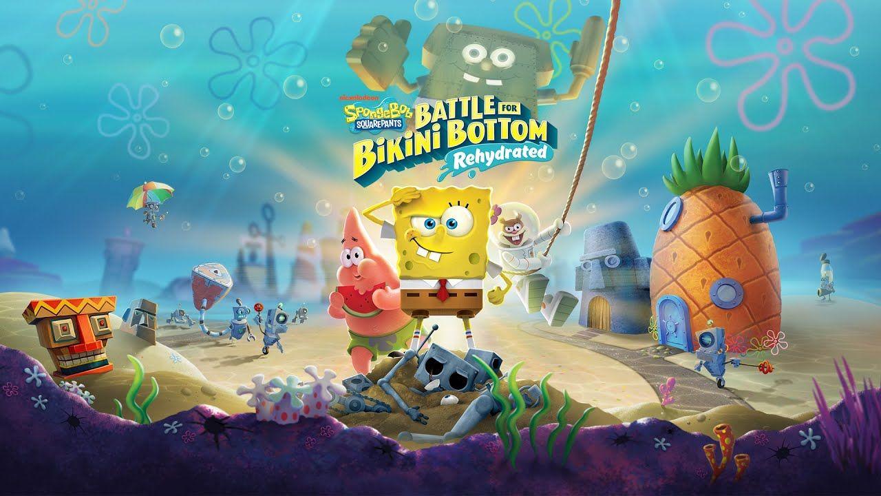 Spongebob Squarepants Battle For Bikini Bottom Rehydrated Playthrough 14 In 2020 Spongebob Squarepants Spongebob Squarepants