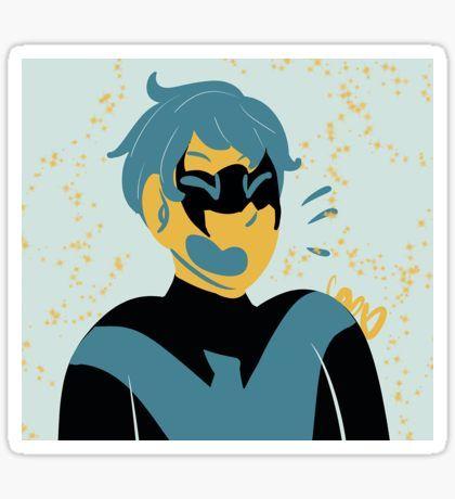 Nightwing sticker sticker