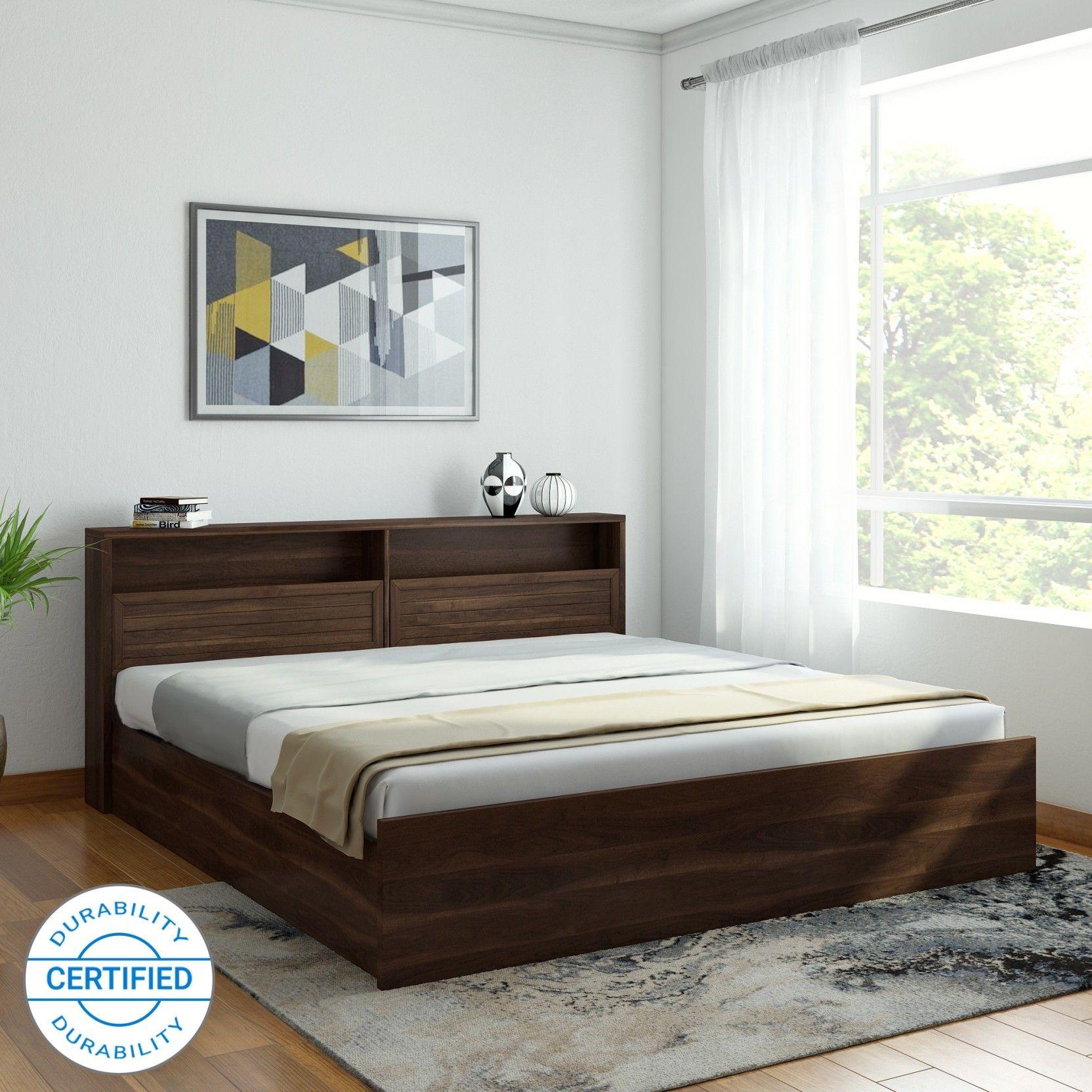 Hometown Alyssa Engineered Wood King Box Bed Price In India Buy Hometown Alyssa Engineered Wood King Box Bed Online At Flip Box Bed Bed Price Engineered Wood