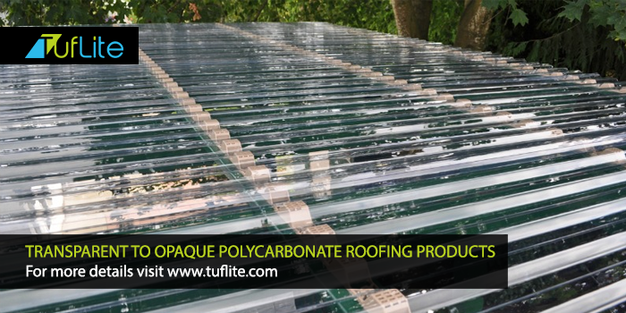Transparent to #Opaque PolyCarbonate #Roofing Products For