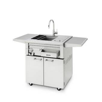 Best Outdoor Free Standing Bar Center Sink Outdoor Kitchen 400 x 300