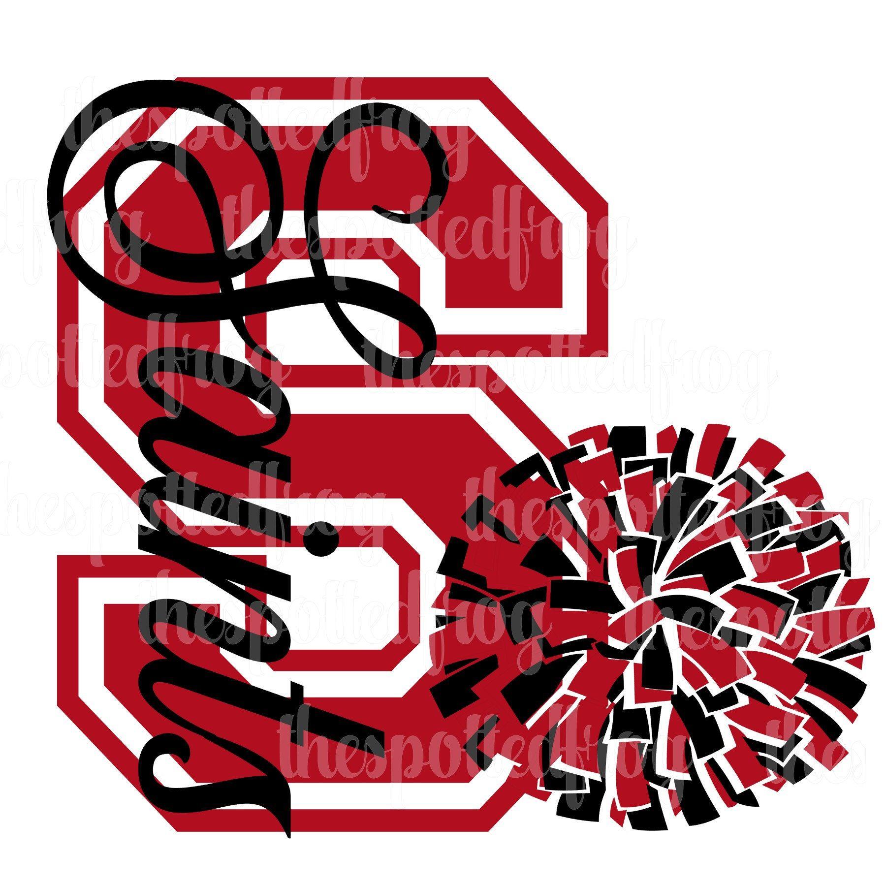 Saints Cheer SVG Cheer, Cheer mom, Saints