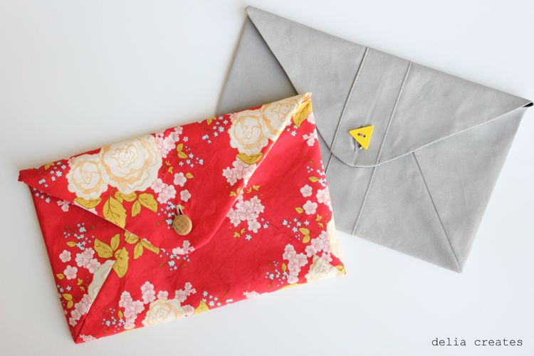 Image result for envelope clutch sewing pattern