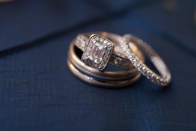 Round Vintage Halo Engagement Ring Pictures On Hand 37