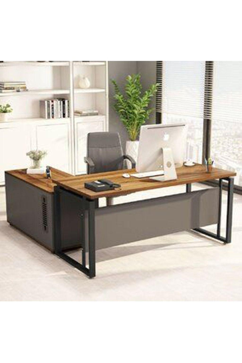 42 Comfy Computer Desk Arrangement Design Ideas That Will