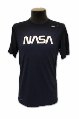 a5d240b6 Mens T-Shirt - NIKE NASA Worm - Navy   Space   Mens tops, Nike, T shirt