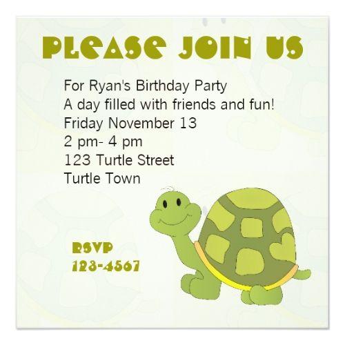 Pop Turtle Card