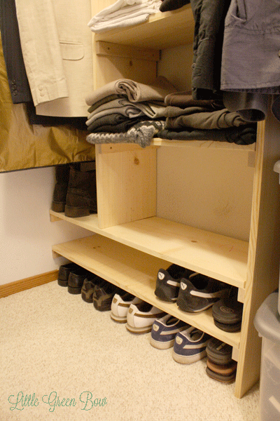 Awesome How To Make DIY Closet Organizers And Clean Out Your Walk In Closet | Little