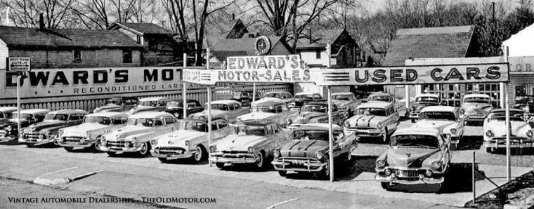 Vintage Used Car Dealership Dealership Car Dealership Vintage Cars