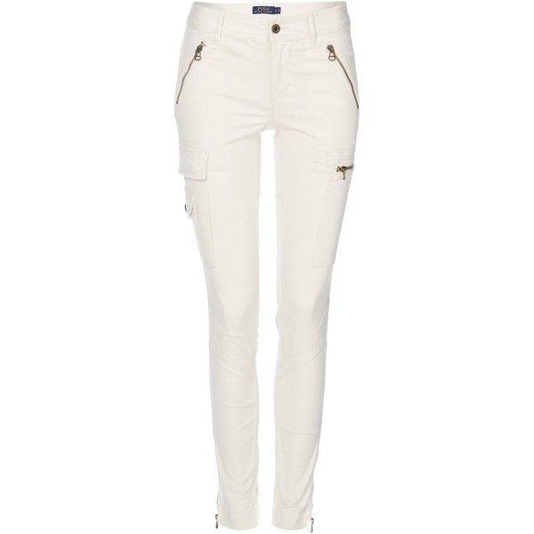 Skinny Fit Polo Cargo Trouser120❤ Liked Lauren Ralph On roeBQCxWd