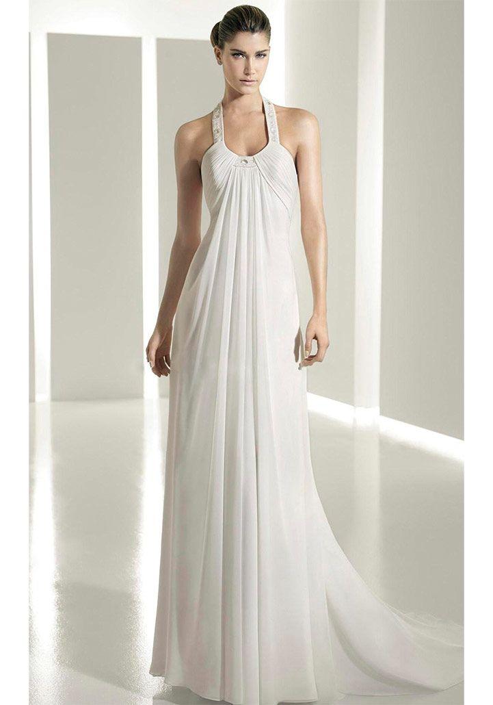 Греческие белые платья недорого