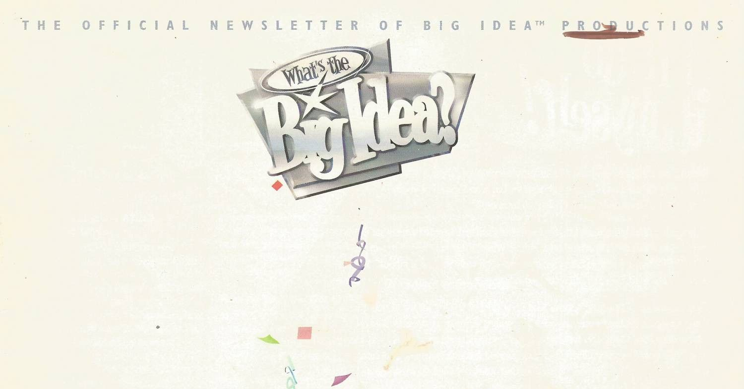 View And Download What S The Big Idea Magazine 5th Anniversary Pdf On Docdroid What S The Big Idea Veggietales Big