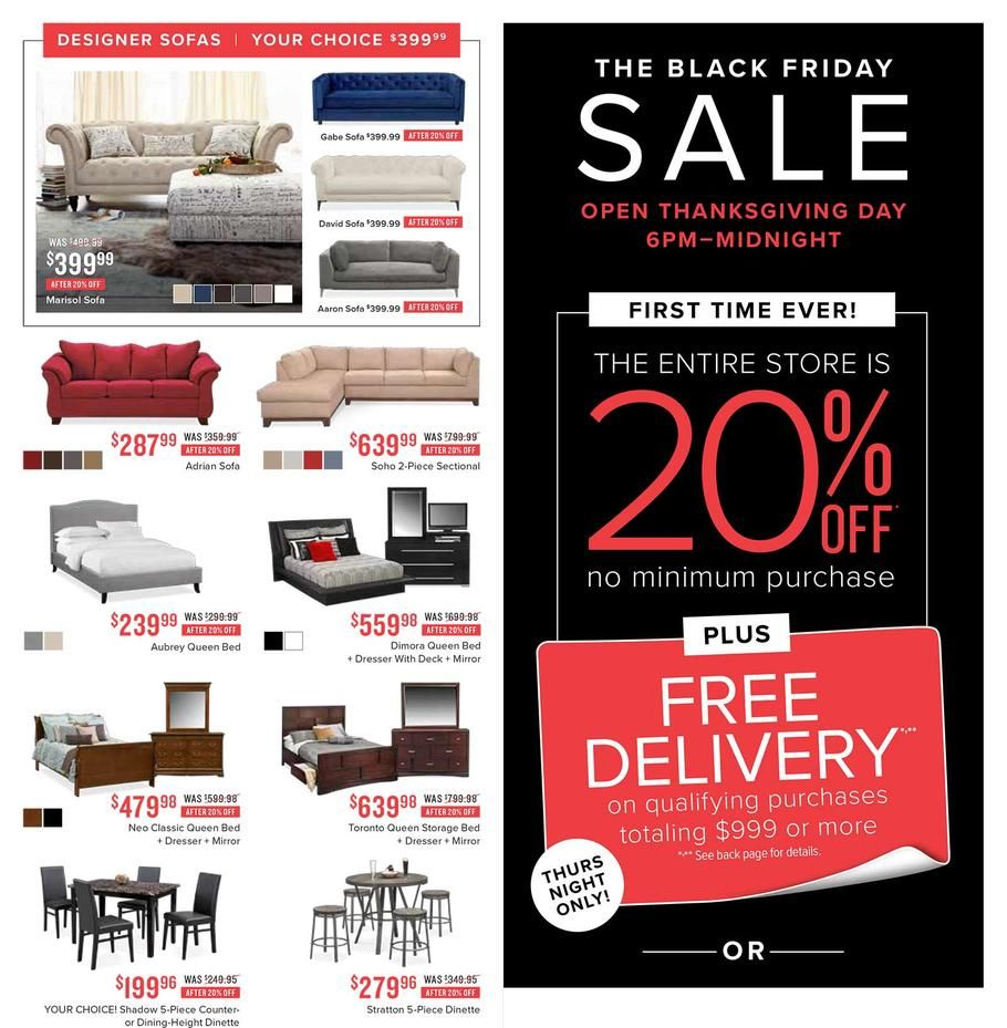 Value City Black Friday 2017 Ad Scan Deals And Sales Black