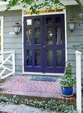Best Front Door Colors For A Beige Home * Kelly Bernier Desi…
