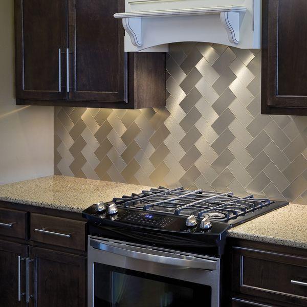 Aspect Autumn Wheat Long Grain Tile Kit Ping S On Backsplash Tiles