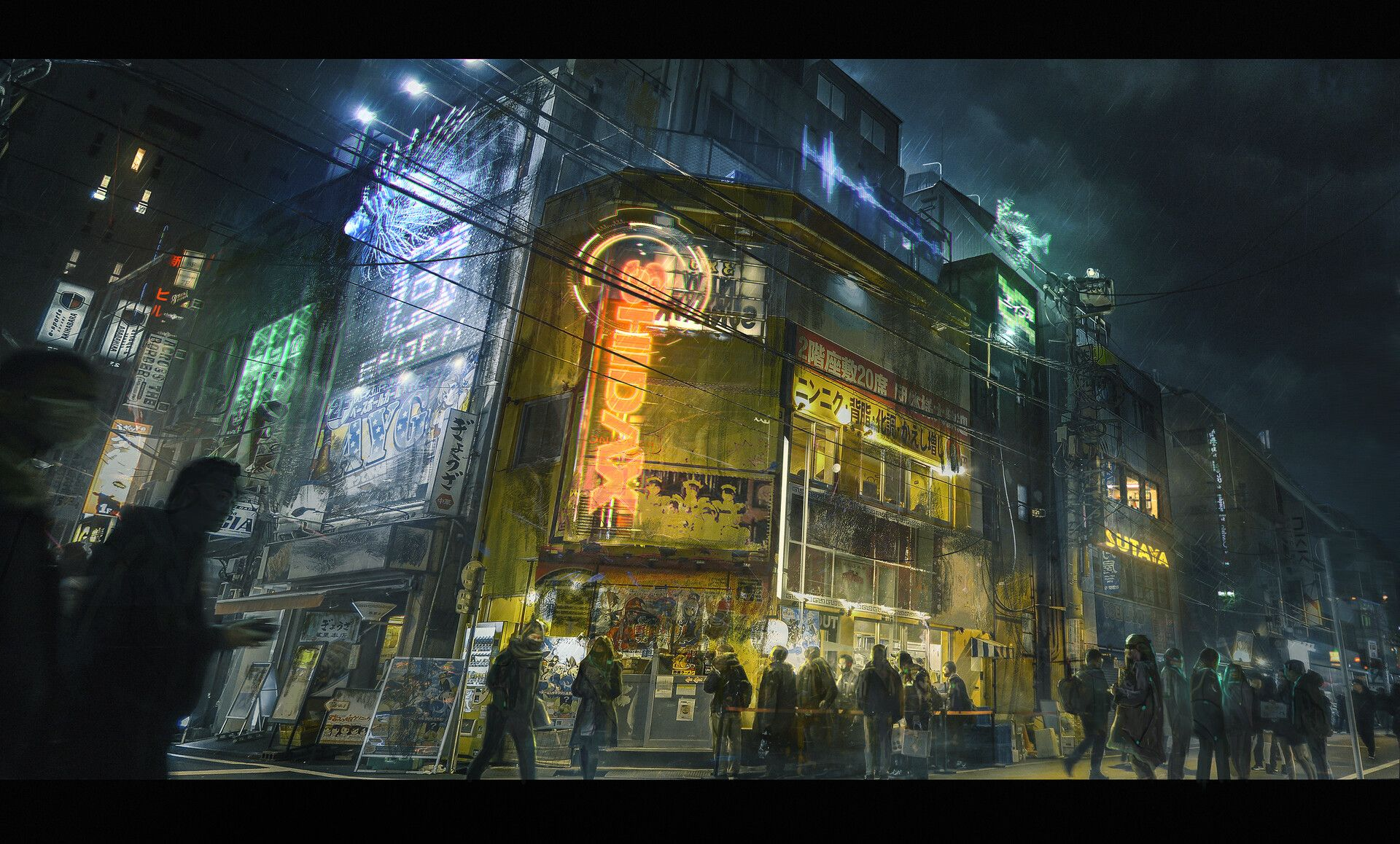 Ep0ch by job menting artwork concept art painting