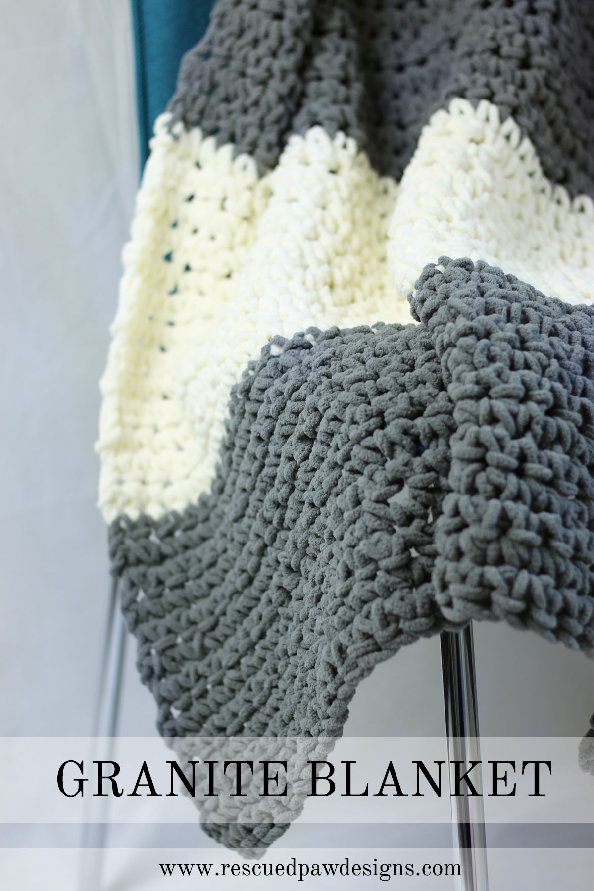 The Granite Crochet Throw Blanket a Free Crochet Pattern | Crochet ...