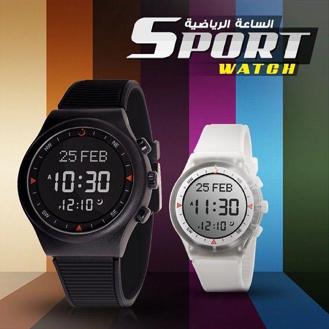 3d55d16780f50 معلومات عن الاإعلان   ساعة الفجر الرياضيه موديل WY-16 السعر 210 درهم متوفره  بعدة