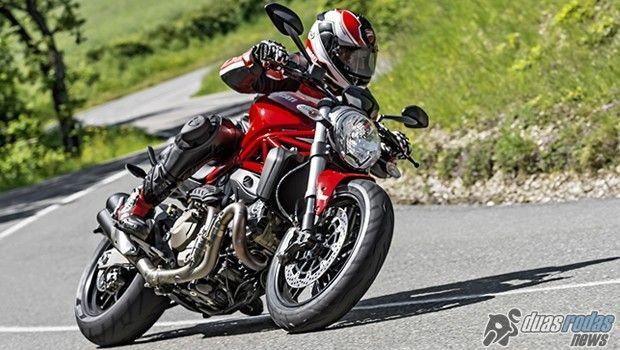 Chega ao Brasil a esperada Ducati Monster 821